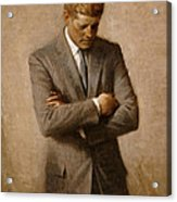 John F Kennedy 2 Acrylic Print