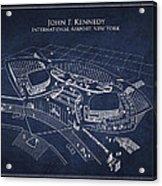 John F Kennedy International Airport Acrylic Print