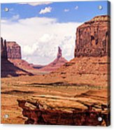 John Ford Point - Monument Valley - Arizona Acrylic Print