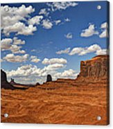 John Ford Point - Monument Valley  Acrylic Print