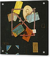 Old Time Card Rack Acrylic Print