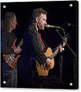 John Gorka And Michael Manring In Concert Acrylic Print