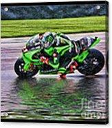John Hopkins 2005 Motogp Red Bull Suzuki Acrylic Print