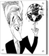 John Kerry Earth Day Acrylic Print