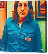 John Lennon 1975 Acrylic Print