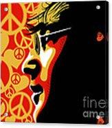 John Lennon Imagine Acrylic Print by Sassan Filsoof