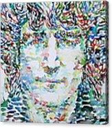 John Lennon Portrait.1 Acrylic Print