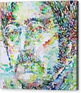 John Lennon Portrait.2 Acrylic Print