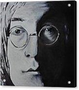 John Lennon Acrylic Print by Stefon Marc Brown