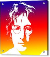 John Lennon The Legend Acrylic Print
