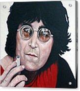 John Lennon Acrylic Print by Tom Roderick