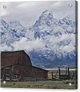 John Moulton Barn Grand Teton National Park Wyoming Acrylic Print
