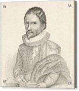 John Napier (1550-1617), 8th Laird Acrylic Print