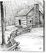 John Ownby Cabin Acrylic Print