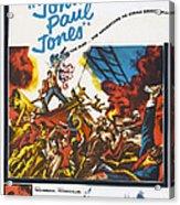 John Paul Jones, Us Poster Art, 1959 Acrylic Print