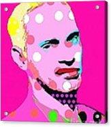 John Waters Acrylic Print by Ricky Sencion