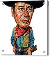 John Wayne Acrylic Print by Art