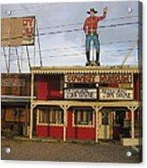 John Wayne Cowboy Museum Tombstone Arizona 2004 Acrylic Print