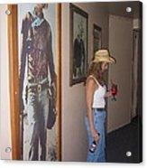 John Wayne Gallery Hondo 1953 Crystal Palace Saloon Helldorado Days Tombstone Arizona 2004 Acrylic Print