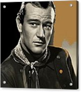 John Wayne Publicity Photo In Costume Stagecoach 1939-2013 Acrylic Print