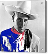 John Wayne Publicity Photo Overland Stage Raiders 1938 Acrylic Print