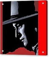 John Wayne Ringo Kid Portrait Stagecoach 1939-2013 Acrylic Print