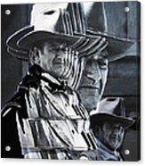 John Wayne Rio Lobo Collage Old Tucson Arizona 1970-2009 Acrylic Print