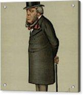 John Winston Spencer-churchill, 7th Acrylic Print