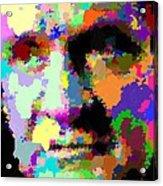 Johnny Cash - Abstarct Acrylic Print