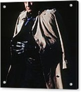 Johnny Cash Trench Coat Old Tucson Arizona 1971 Acrylic Print