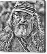 Johnny Reb Acrylic Print