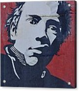 Johnny Rotten Acrylic Print