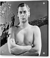 Johnny Weissmuller, Ca. Mid-1930s Acrylic Print