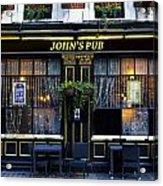 John''s Pub Acrylic Print