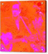 Johny Cash 3 Acrylic Print