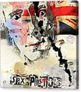 Johny Rotten Acrylic Print