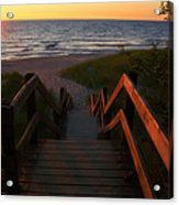 Join Us For The Sundown Acrylic Print