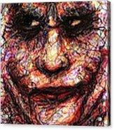 Joker - Face II Acrylic Print