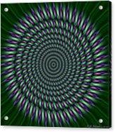 Joker Mandala Acrylic Print