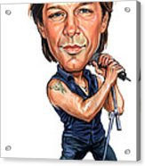 Jon Bon Jovi Acrylic Print