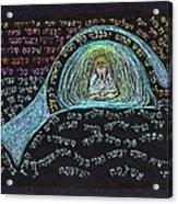 Jonah Prayer Four Acrylic Print