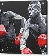 Jones Jr Vs Toney Acrylic Print
