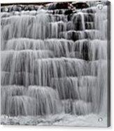 Jones Mill Run Dam Up Close 2 Acrylic Print