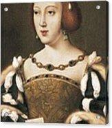 Joos Van Cleve 1485-1541. Eleanor Acrylic Print by Everett