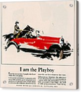 Jordan 1926 1920s Usa Cc Cars Horses Acrylic Print by The Advertising Archives