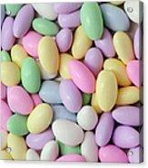 Jordan Almonds - Weddings - Candy Shop - Square Acrylic Print