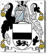 Jordan Coat Of Arms Irish Acrylic Print