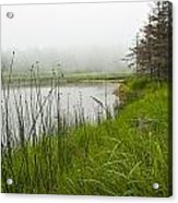 Jordan Pond In Acadia National Park Acrylic Print