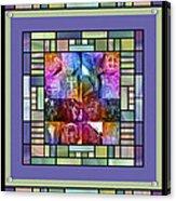 Jornada Mogollon Kaleidoscope Acrylic Print