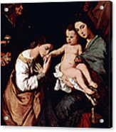 Jos De Ribera Acrylic Print